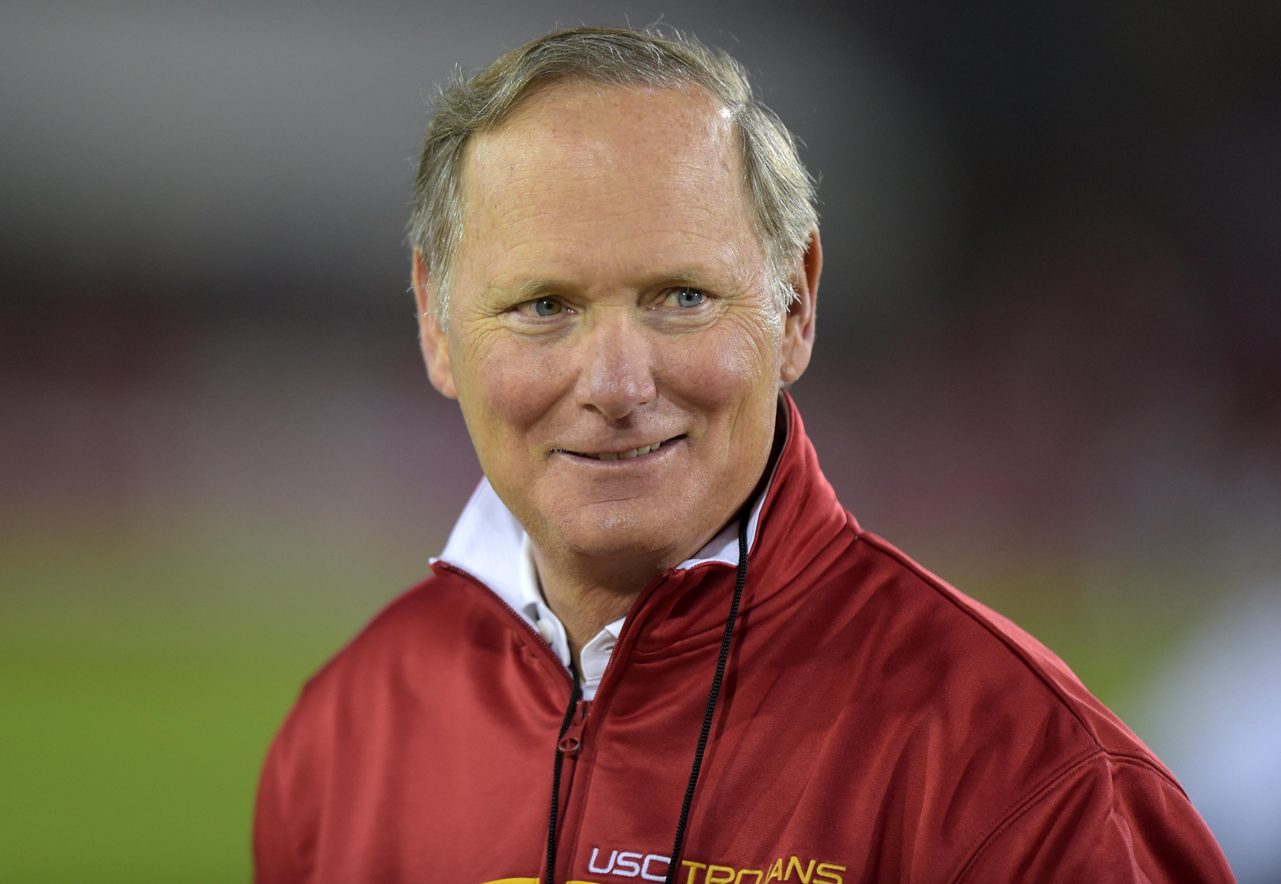 USC AD Pat Haden tweets he's skipping CFP meetings in Indianapolis to honor his gay son