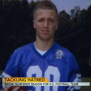 Racial slur ends season for high school football team