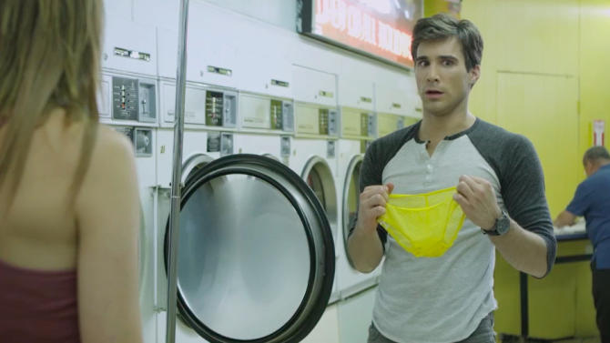 This undated screenshot provided by Tide shows the company's Super Bowl advertisement. (AP Photo/Tide)