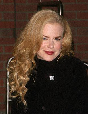 Nicole Kidman at a New York City screening of Paramount Vantage's Margot at the Wedding hosted by The Cinema Society and Linda Wells