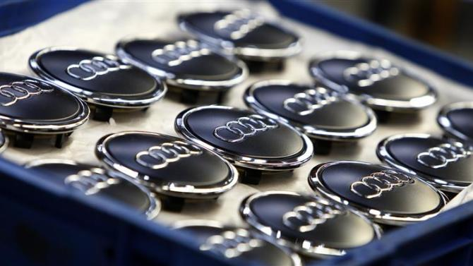 File photo of hub caps for Audi A3