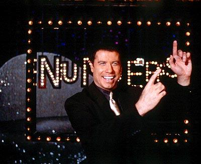 John Travolta as Russ Richards in Paramount's Lucky Numbers