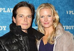Scott Wolf, Kelly Wolf | Photo Credits: Michael Bezjian/Getty Images