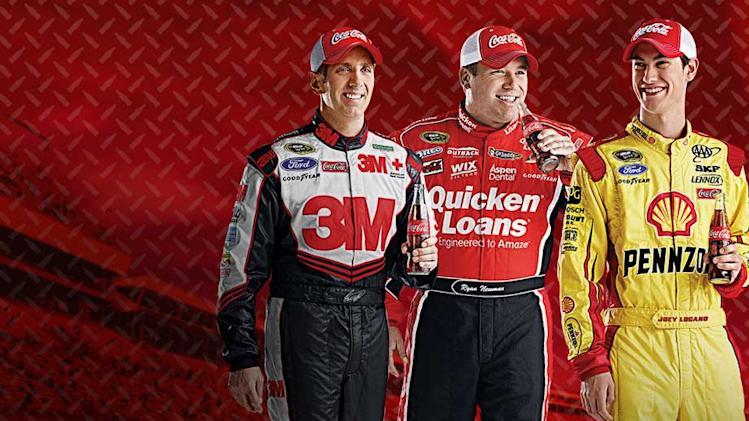 Biffle, Logano, Newman: Coke Live Chat Wednesday