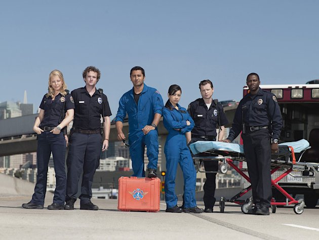 The cast of the NBC series Trauma.