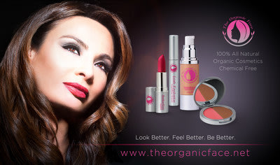 THE ORGANIC FACE(TM) LAUNCH OF TIMES SQUARE BILLBOARD AD DURING NEW YORK FASHION WEEK