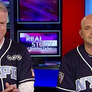 Boomer and Carton step up to plate for slain NYPD officers