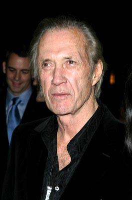 David Carradine at the New York premiere of Miramax's Kill Bill: Volume 1