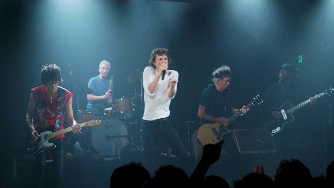 Rolling Stones rock small LA club ahead of tour