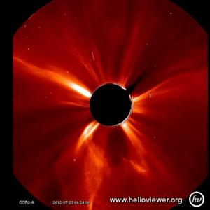 NASA: Solar Storm Nearly Causes Catastrophe on Earth