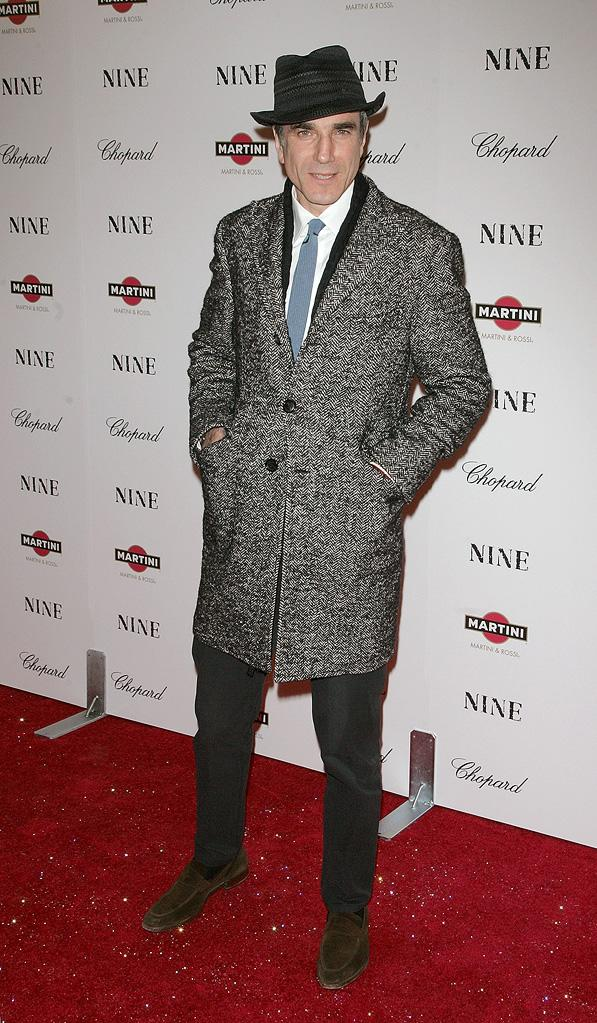 Nine NY Screening 2009 Daniel Day Lewis