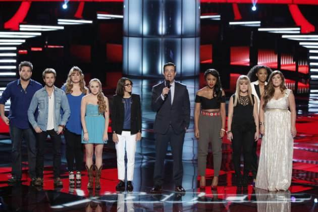 The Top 8 artists on 'The Voice,' Season 4 -- NBC