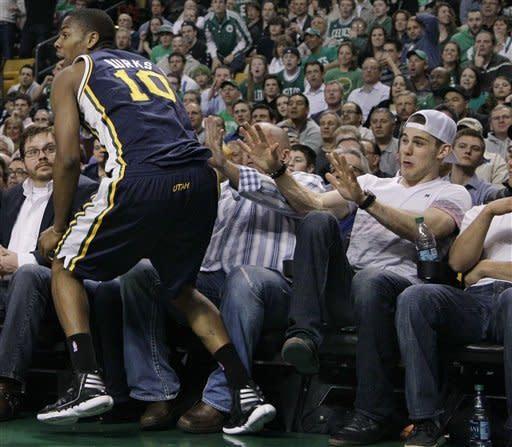 Garnett powers Celtics to 94-82 win over Jazz