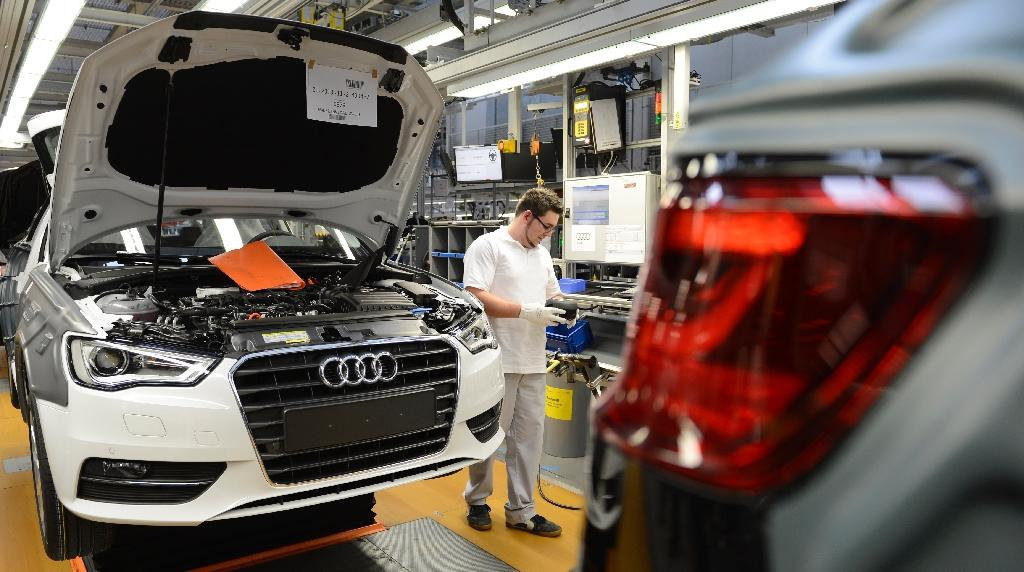 German new car sales up in September: data
