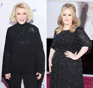 "Joan Rivers Calls Adele ""Chubby,"" Says the Singer Should ""Lose Weight"""