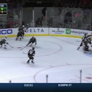 Jonathan Quick Save on Erik Haula (17:01/1st)