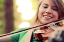 Come to Zelda's Kokiri Forest for the fairies, stay for the violin music