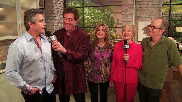 The Talk - The Brady Bunch Cast Visits The Talk