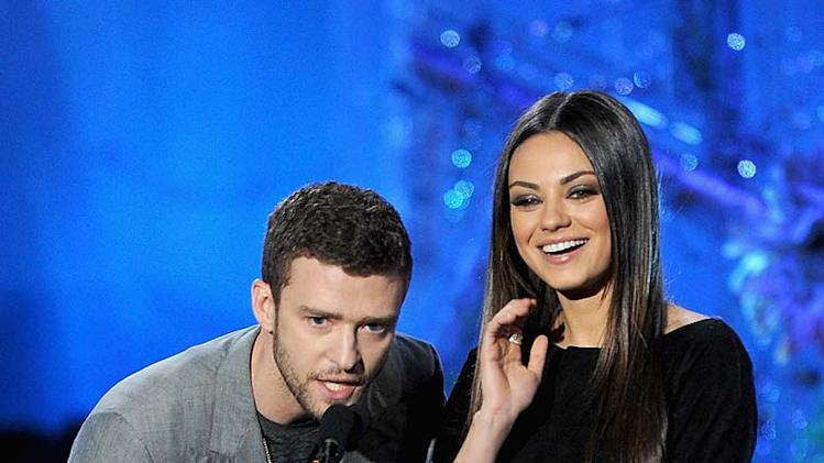 Timberlake Kunis MTV Movie Awards