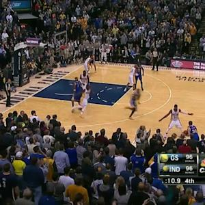 Pacers-Warriors Finish