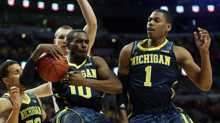 NCAA Basketball: Big Ten Tournament-Wisconsin vs Michigan