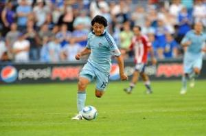 Sporting Kansas City's Espinoza out up to a month with ankle injury