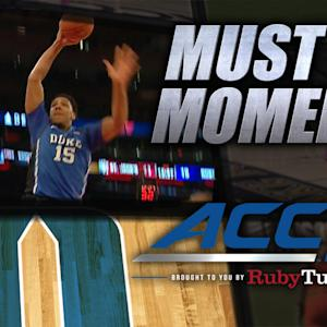 Duke's Okafor throws down vicious fast-break dunk | ACC Must See Moment
