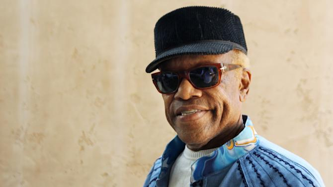 """In this June 22, 2012 photo, musician Bobby Womack poses for a portrait in Los Angeles. With health and drug problems behind him, Womack makes his return with a new album, """"The Bravest Man in the Universe."""" (Photo by Matt Sayles/Invision/AP)"""