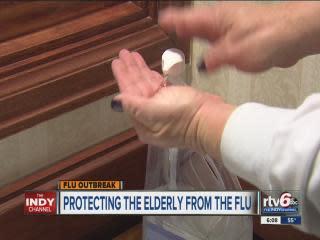 Nursing homes take extra flu precautions to protect vulnerable elderly residents