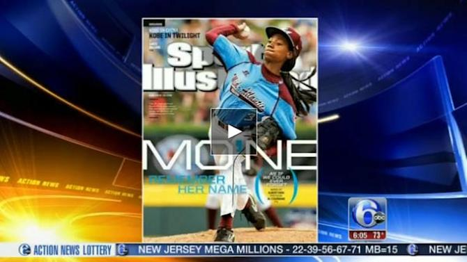 Taney Dragons' star pitcher on Sports Illustrated cover
