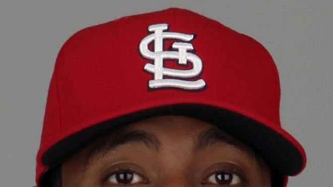 Oscar Taveras Baseball Headshot Photo