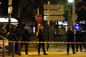 Police conduct an operation in Saint-Denis, near Paris…