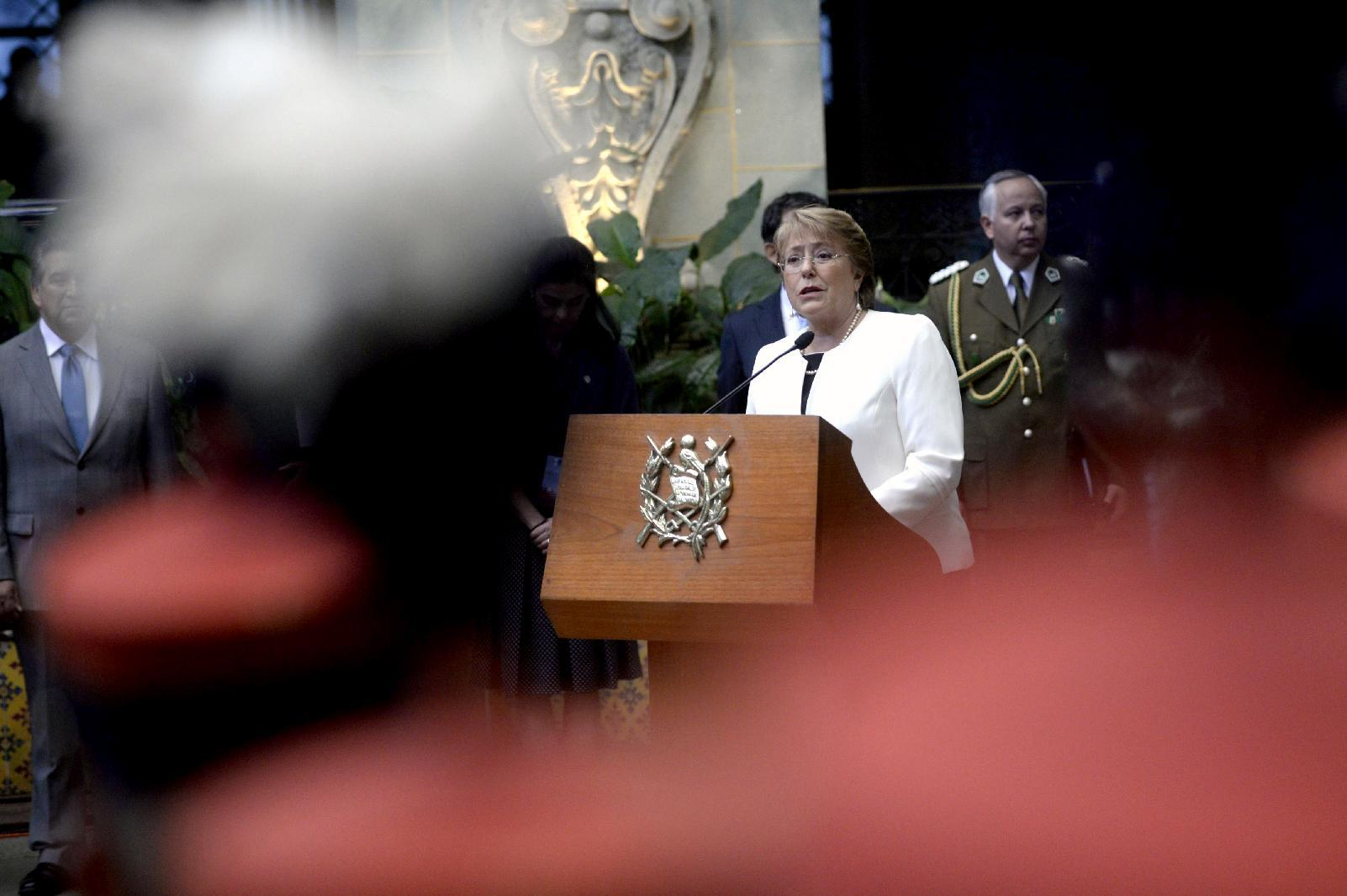 Chile's Bachelet sends abortion bill to Congress