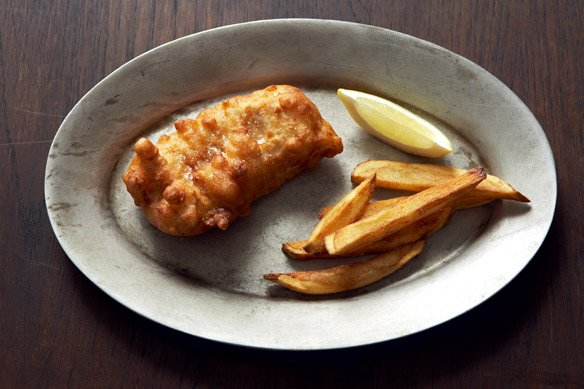 IPA-Battered Fish & Chips