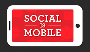 3 Reasons Why Your Business Needs a Mobile App to Take Advantage of Social Media image SocialIsMobile