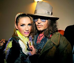 "Ke$ha: I Had ""Eyeball Sex"" With Johnny Depp During a Hurricane Sandy Relief Concert"