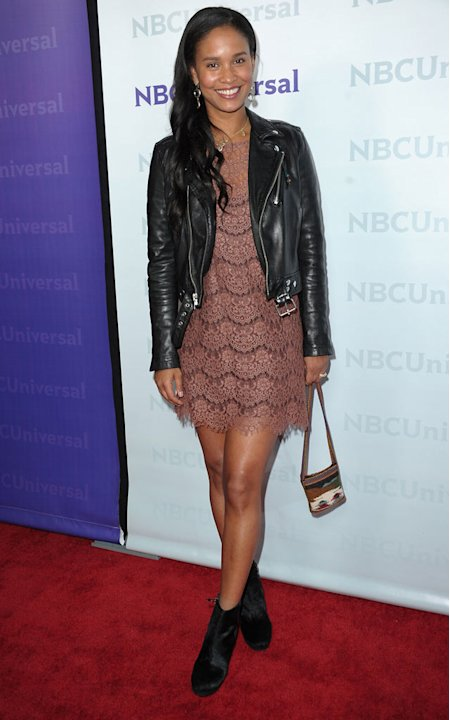 Joy Bryant (&quot;Parenthood&quot;) attends the 2012 NBC Universal Winter TCA All-Star Party at The Athenaeum on January 6, 2012 in Pasadena, California. 