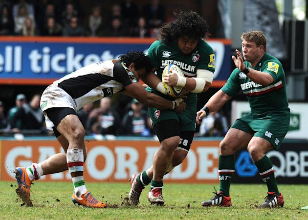 Rugby Union - Aviva Premiership - Semi-Final - Leicester Tigers v Harlequins - Welford Road