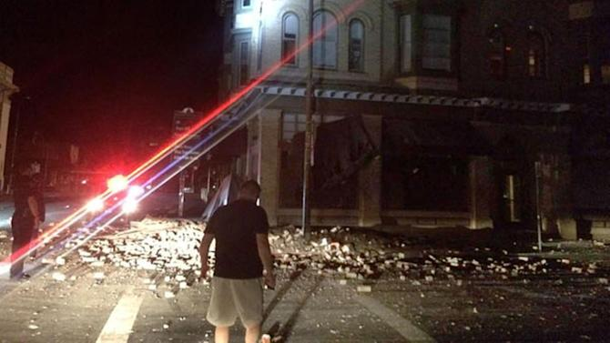 Strong California earthquake causes injuries, damage