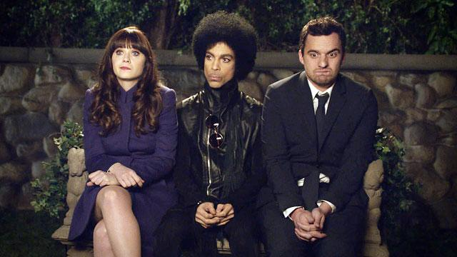 Pics or It Didn't Happen: Prince on 'New Girl'