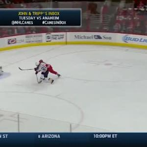 Cam Ward Save on Paul Stastny (18:40/2nd)