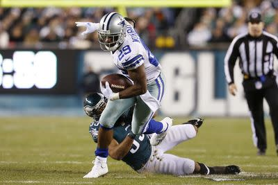 DeMarco Murray will decide if he plays, Andre Johnson passes concussion protocol