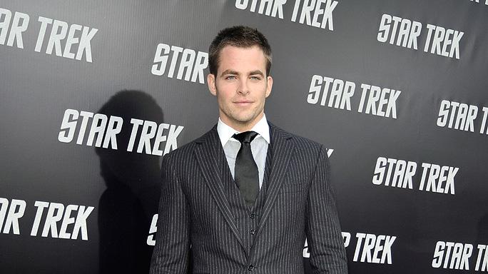 Star Trek LA premiere 2009 Chris Pine