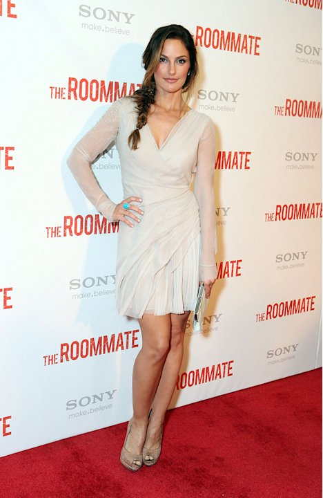 The Roommate LA Screening 2011 Minka Kelly