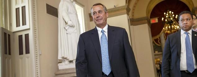 Boehner leaves open possible vote on DHS bill