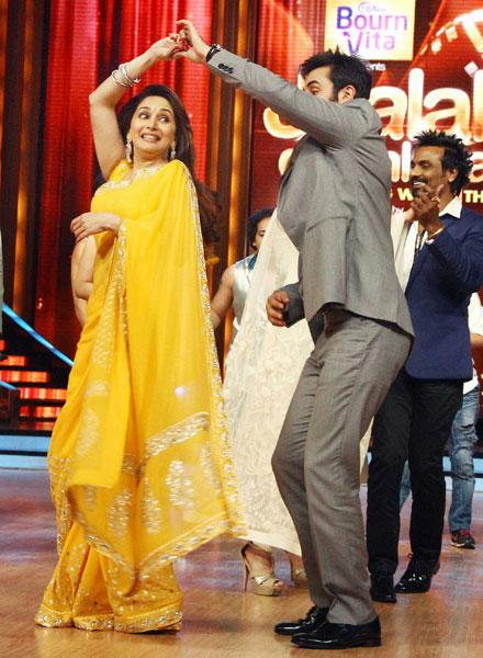 Madhuri caught in a tug of war