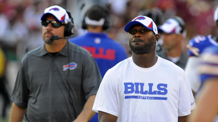 Bills GM Whaley not actively shopping S Byrd