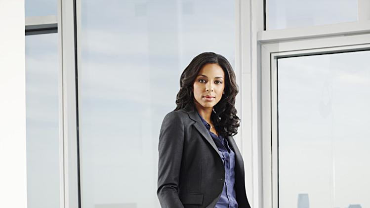 "Marsha Thomason as Diana Lancing in ""White Collar."""
