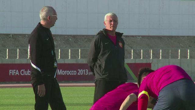 Guangzhou and Al Ahly train before Club World Cup clash