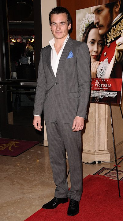 The Young Victoria LA Premiere 2009 Rupert Friend